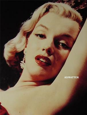 Marilyn Monroe Pin Up Poster Smokin Hot In This Sexy Luscious Red Lips Photo