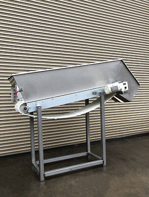 18 X 70 Incline Cleated Belt Food Conveyor 3