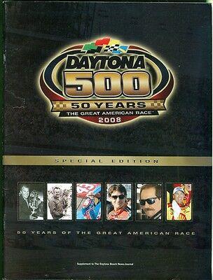 2008 Daytona 500 50Th Anniversary  Supplement From Daytona Beach News Journal