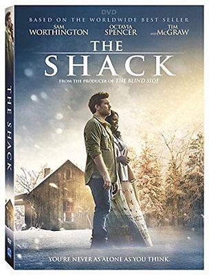 THE SHACK DVD - SINGLE DISC EDITION - NEW UNOPENED - SAM WORTHINGTON