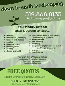 FREE QUOTES!!  LANDSCAPING London Ontario image 1