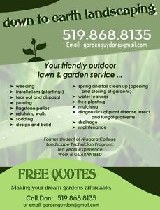 MAKE YOUR LANDSCAPE DREAMS A REALITY