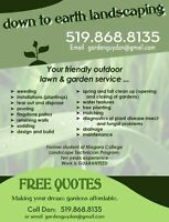 MAKE YOUR GARDEN DREAMS A REALITY FOR AN AFFORDABLE PRICE!
