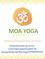 Yoga lesson at home at your own time  for $80 MONTHLY