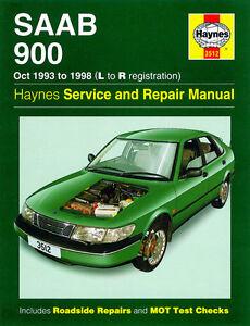 Saab 900 / Turbo 1993-1998 - Reparaturanleitung Handbuch workshop repair manual