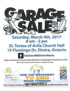 Mark your Calendars!   Garage Sale- MARCH 4th