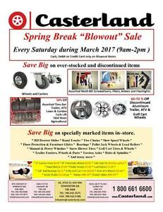 MASSIVE SPRING BREAK GARAGE SALE!!