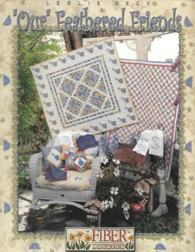 QUILTING FIBER MOSAICS OUR FEATHERED FRIENDS MUST SEE!!!