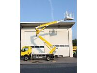 Cherry Picker Hire Platform MEWP Leeds Bradford Yorkshire 22 Meter Commercial Tree Services *Cheap*