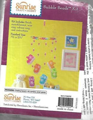 NEW BUBBLE BEADS KIT BABY BOOTIE MOBILE TOO CUTE!!!