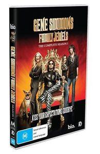 Gene Simmons' Family Jewels : Season 1 (DVD, 2009, 2-Disc Set) BRAND NEW!