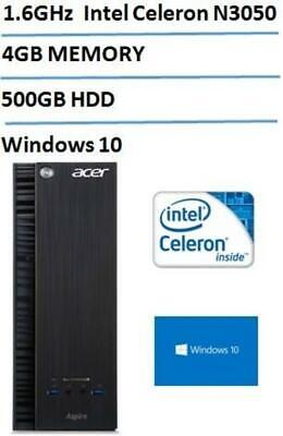 Acer Aspire XC Compact Desktop (Intel Dual-Core Processor up to 2.16GHz, 4GB R..