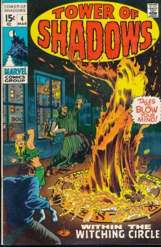 Comics -MARVEL-Tower of Shadows-4-March 1970