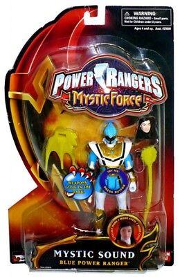 Power Rangers Mystic Force Mystic Sound Blue Power Ranger Action Figure - Blue Mystic Ranger