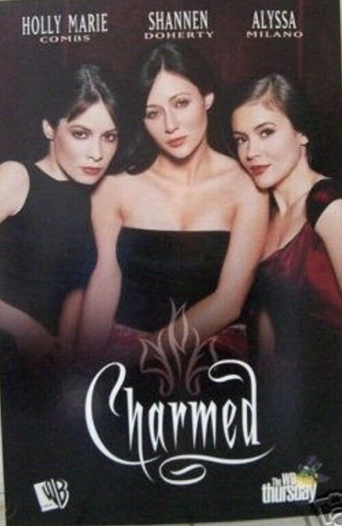 CHARMED WB Milano Doherty Combs LAUNCH POSTER rare