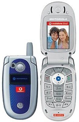 CHEAP MOTOROLA V525 FLIP MOBILE PHONE - UNLOCKED WITH NEW CHARGAR AND WARRANTY