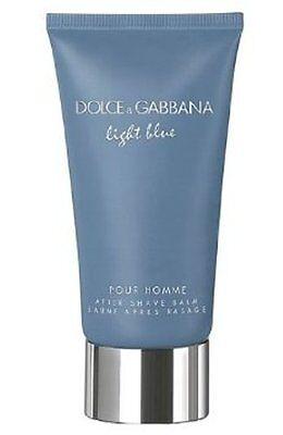 Dolce & Gabbana Light Blue After Shave Balm Full Size 2.5 Oz