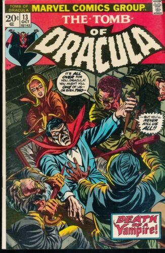 Comics -MARVEL-Tomb of Dracula 13-October 1973