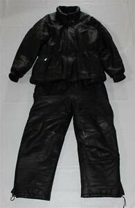 Snowmobile Leather Suit