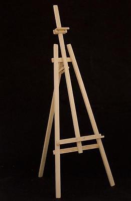 Staffelei Atelierstaffelei Standstaffelei Dreifuss Stand Buchenholz 177cm