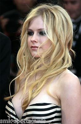 AVRIL LAVIGNE sexy busty 4x6 glossy photo ~ candid #1