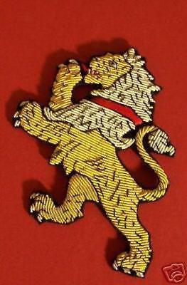 Medieval Lion Symbol (Medieval Heraldry Lion COA Arms Crest Rampant Cape Robe Mantle Arms Symbol)
