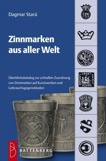 Fachbuch Zinnmarken aus aller Welt, Übersichtskatalog zur Zuordnung, NEU und OVP