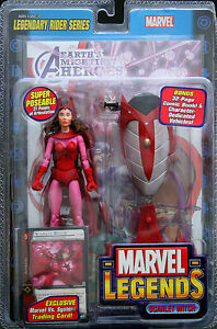 Marvel Legends Scarlet Witch TOYBIZ