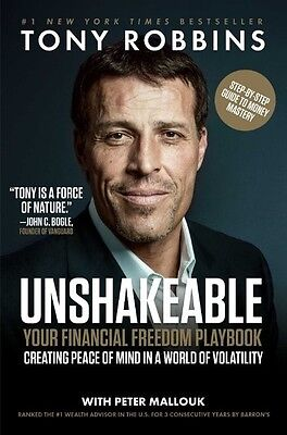 Unshakeable: Your Financial Freedom Playbook Hardcover by Tony Robbins