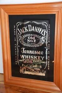 Bar Mirror - Jack Daniels Rockingham Rockingham Area Preview