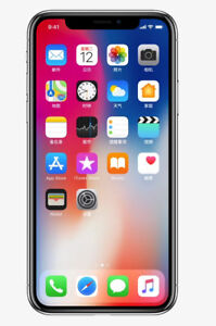 Like New IPhone X Factory Unlocked 2 Months New