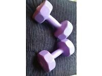 *£5* A Pair of Dumbells 3kg Each