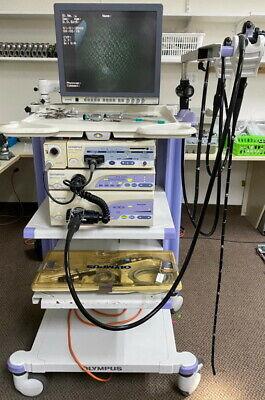 Olympus Cv-160 Endoscopy System W 160 Series Cf-q160gif160 A4801 Video Lap.