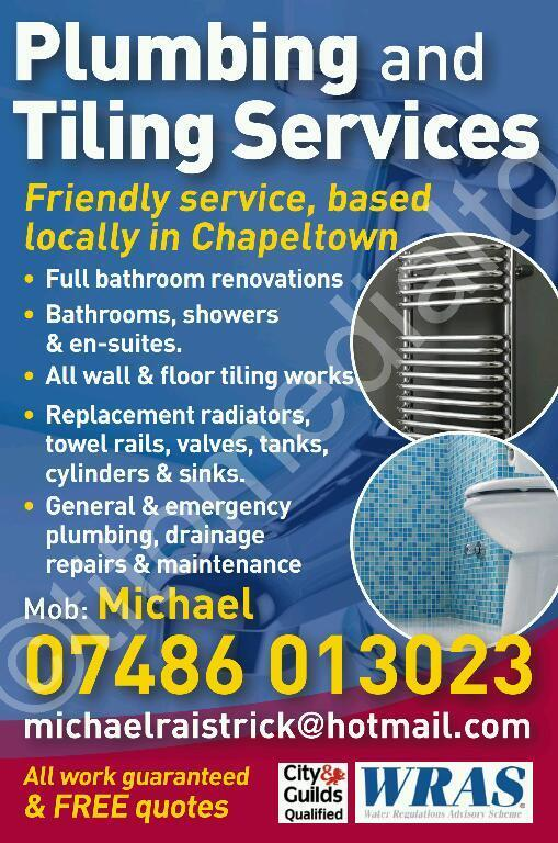 Plumbing and Tiling Services (plumber and tiler)