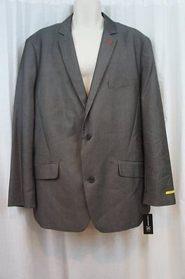 INC International Concepts Blazer Sz XXL Charcoal Grey Sports Jacket Slim Fit