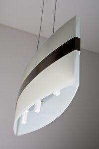 Lampada da soffitto 3 luci Moderno Lampadario Design Sospensione Vetro NEW 6362  eBay