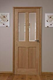 Elveden wood door