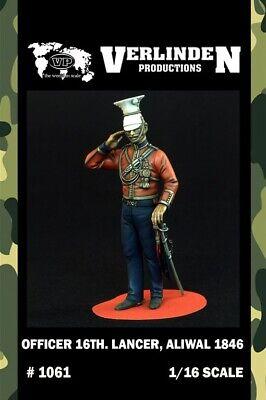 Verlinden 1:16 Officer 16th. Lancer Aliwal 1846 Resin Figure Kit 1061