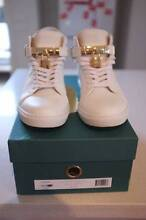 BUSCEMI WHITE 100MM UK 43 WORN ONCE!!!!!!!! Brunswick Moreland Area Preview