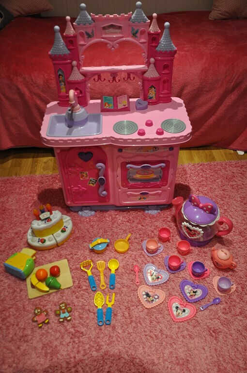 Disney Princess Kitchen Toys Tea Set Pots Activity Toster And Singing Cake In Greenford London Gumtree