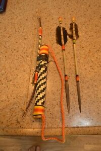 Old Kids Bow And Arrow Set