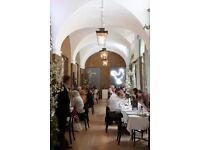 Waiter / Waitress - rhubarb at Gallery Mess, Chelsea