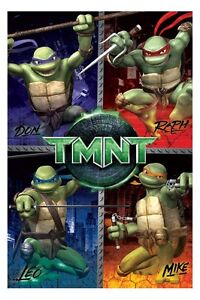 Teenage-Mutant-Ninja-Turtle-TMNT-Edible-Birthday-Cake-Images-Decorations-Toppers