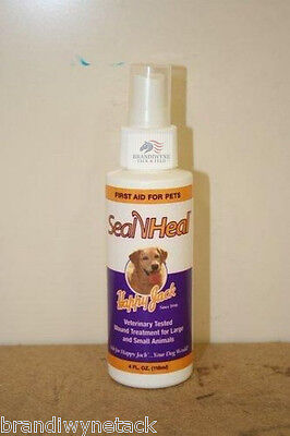 Happy Jack Seal N Heal First Aid For Pets 4 Fl Oz New