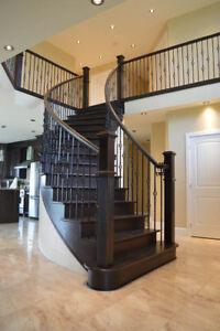 Bring new life to your stairs and railings with Quality Stairs.