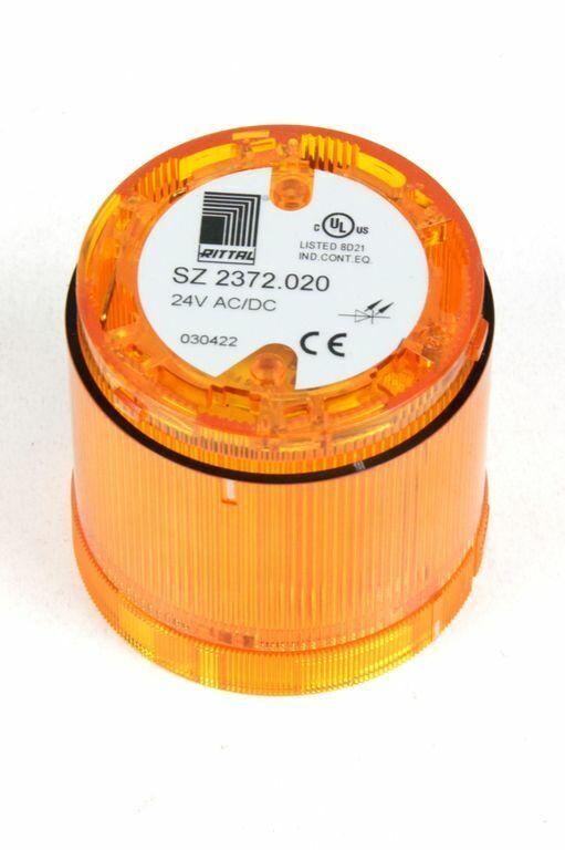 RITTAL SZ 2372.020 LED Dauerlichtelement gelb für Signalsäule modular 24 V AC/DC