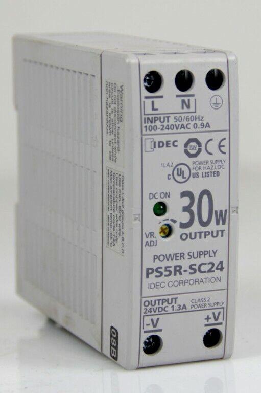 IDEC PS5R-SC24 Hutschienen-Netzteil Schaltnetzteil Power Supply 1,3A 24V/DC 30W