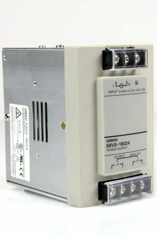 OMRON S8VS-18024 Netzteil Schaltnetzteil Power Supply 24V/DC 7,5 A