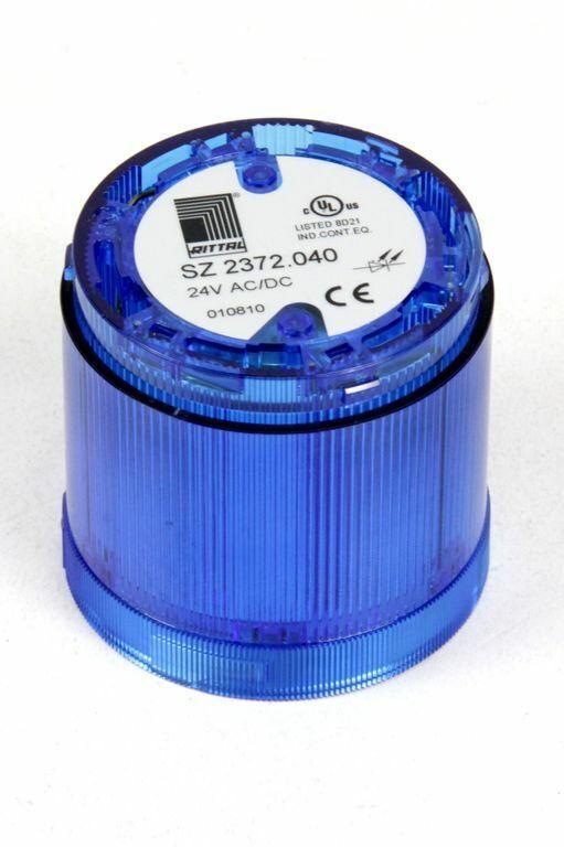 RITTAL SZ 2372.040 LED Dauerlichtelement blau für Signalsäule modular 24 V AC/DC