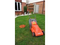 Flymo Venturer Turbo 350 Electric Wheeled Rotary Roller Mower